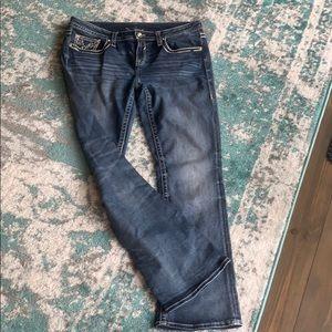 Vigoss Jeans sz 31 Bling Boot Cut 12